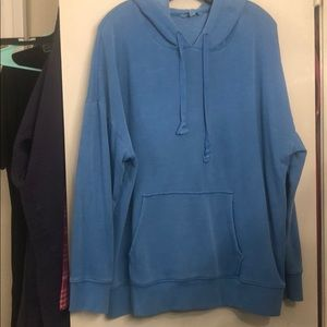 American Eagle Outfitters Tops - Blue American Eagle hoodie